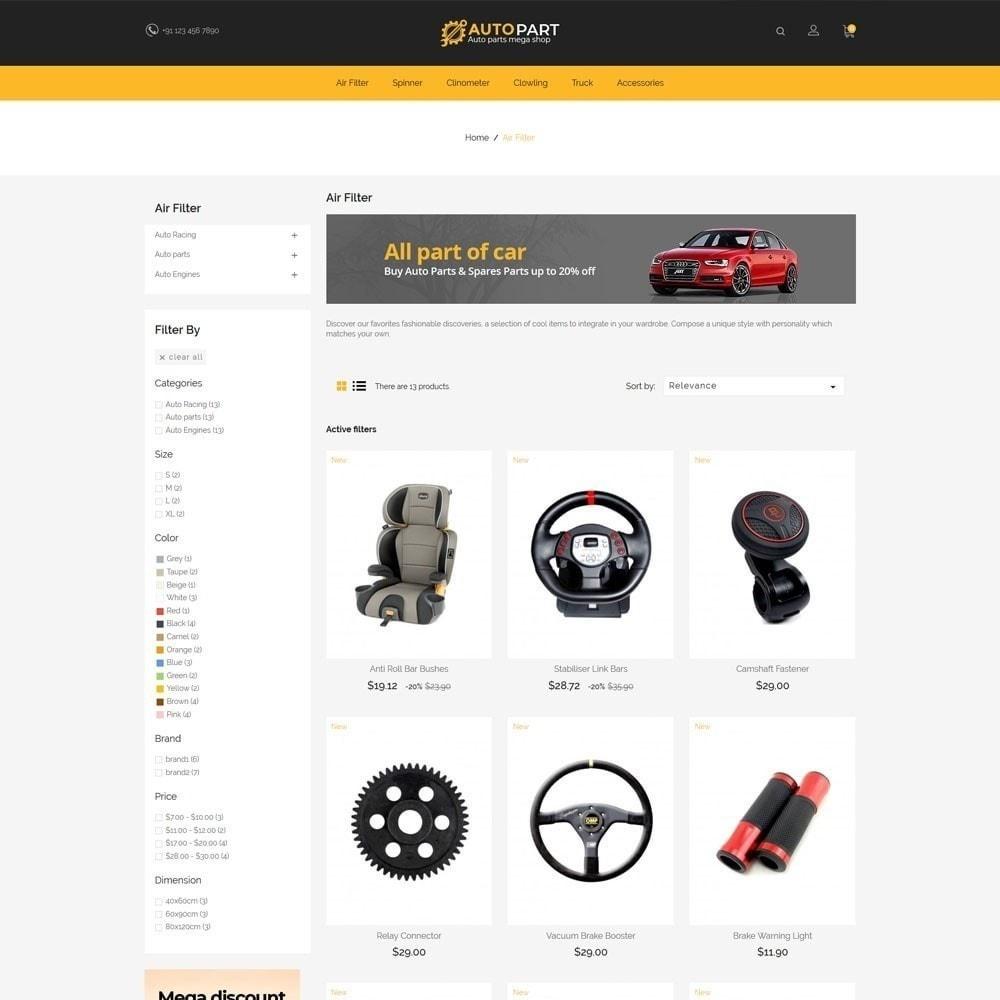 theme - Coches y Motos - Autoparts Car - Auto Tool Store - 3