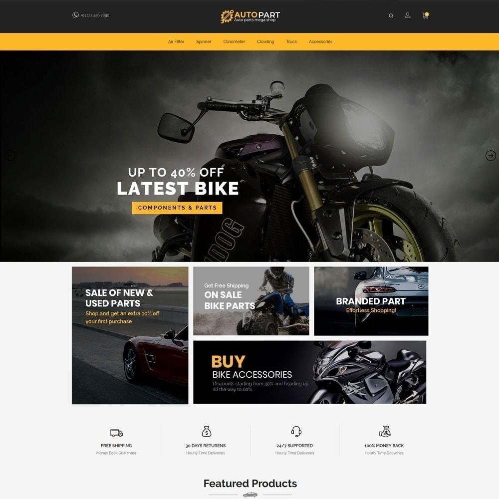 theme - Coches y Motos - Autoparts Car - Auto Tool Store - 4