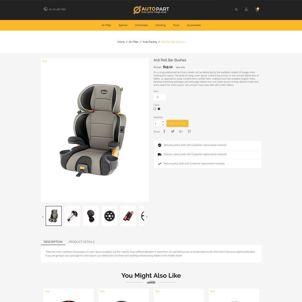 theme - Coches y Motos - Autoparts Car - Auto Tool Store - 6