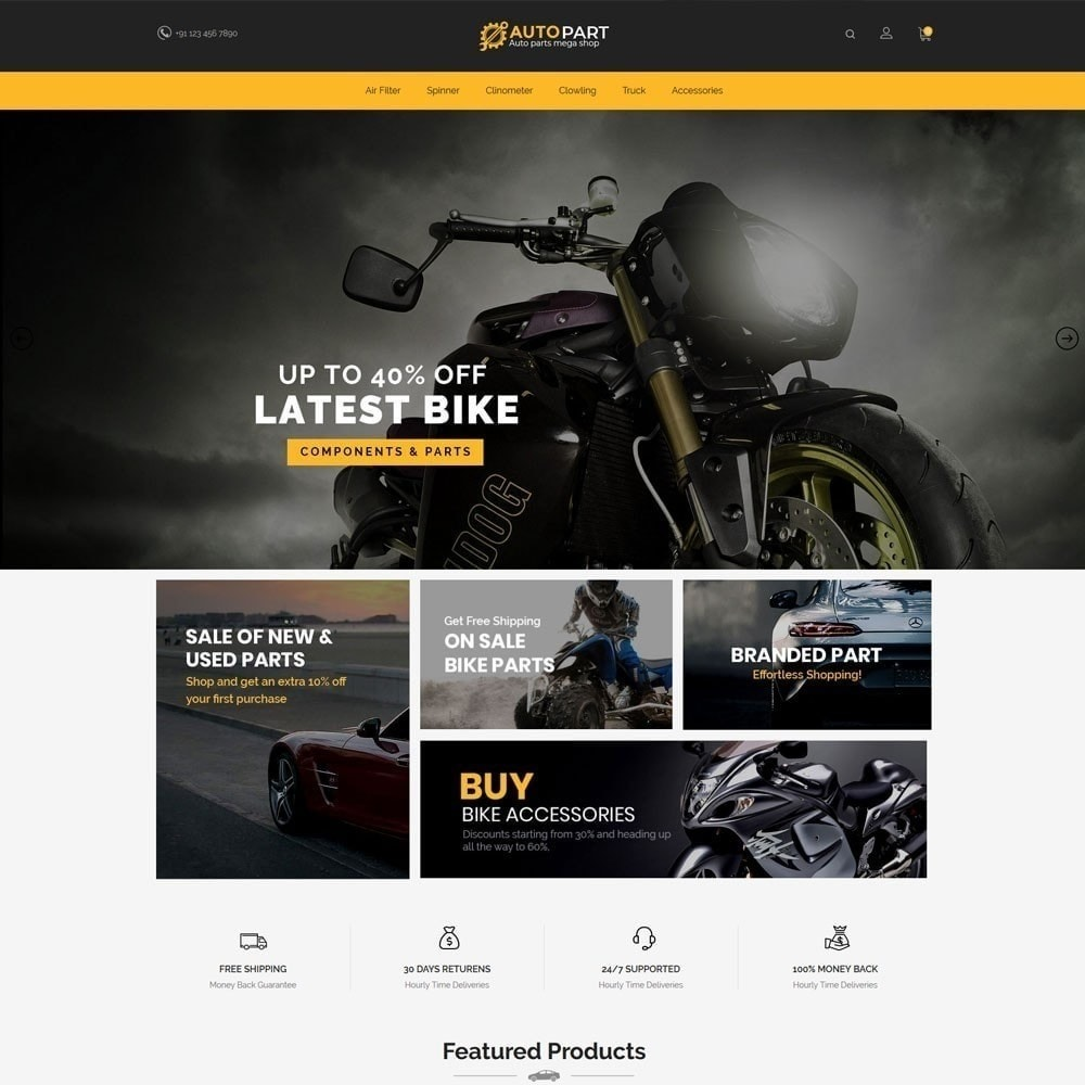 theme - Auto & Moto - Autoparts Car - Auto Tool Store - 3