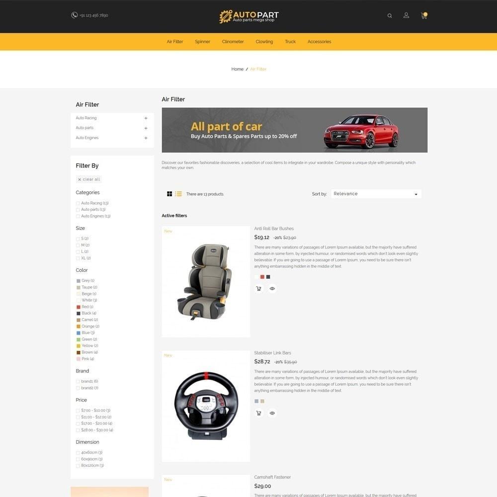 theme - Auto & Moto - Autoparts Car - Auto Tool Store - 5
