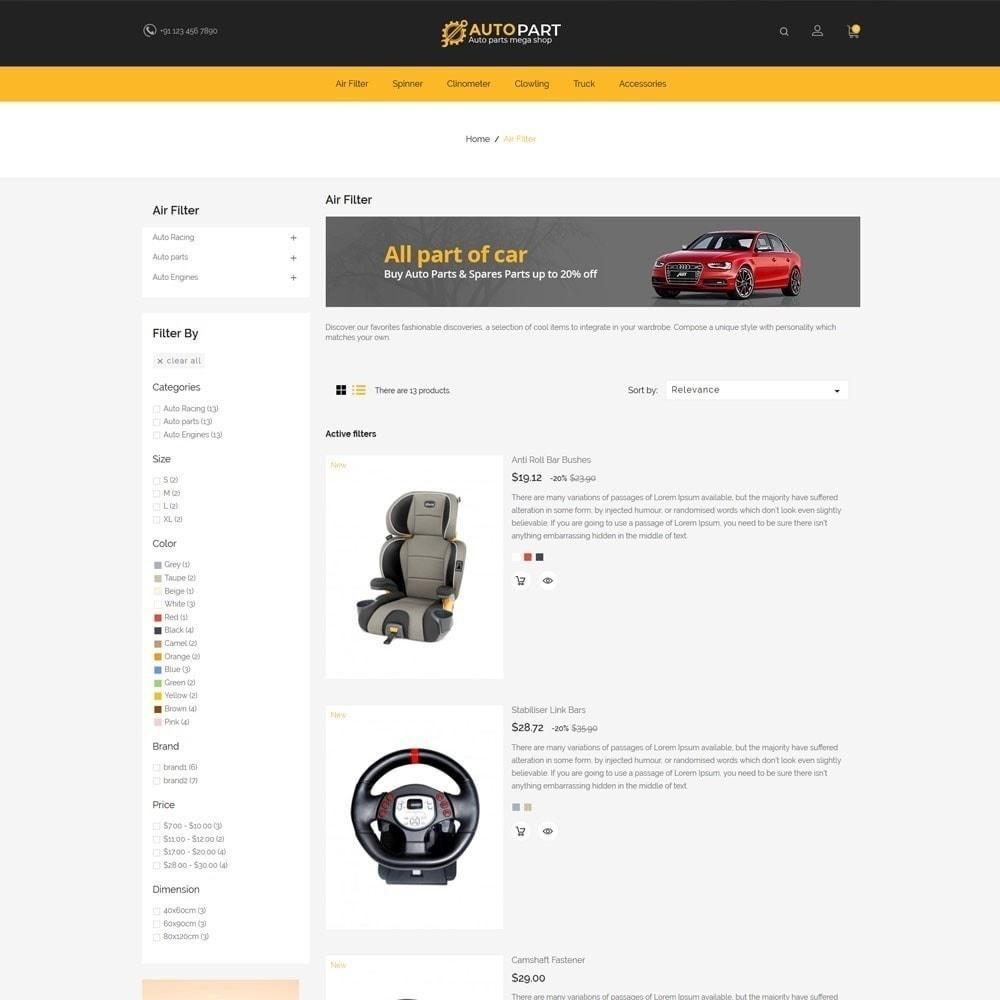 theme - Samochody - Autoparts Car - Auto Tool Store - 5