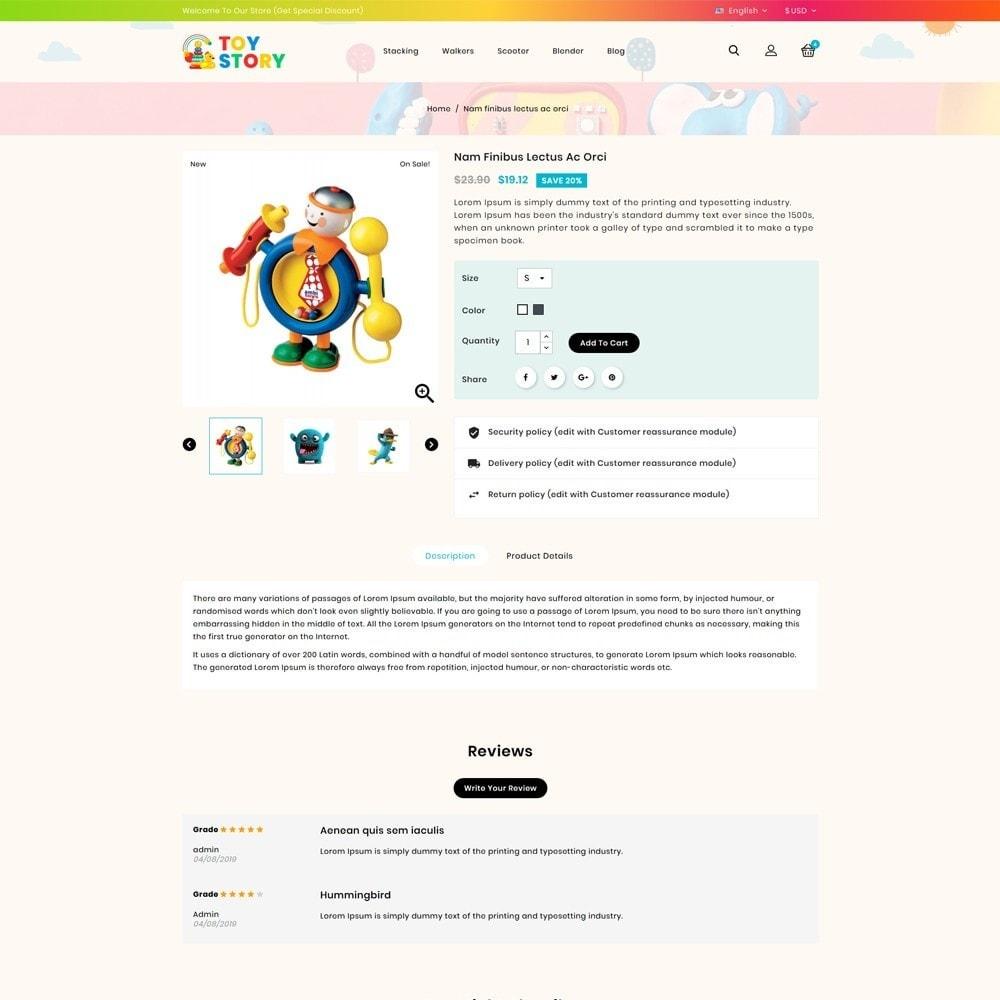 theme - Crianças & Brinquedos - Toys Kids Store - 4