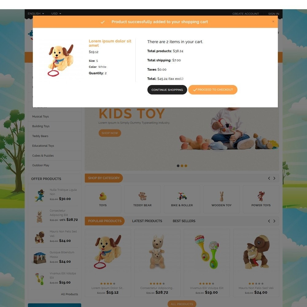 GrandToy Toys Store Template