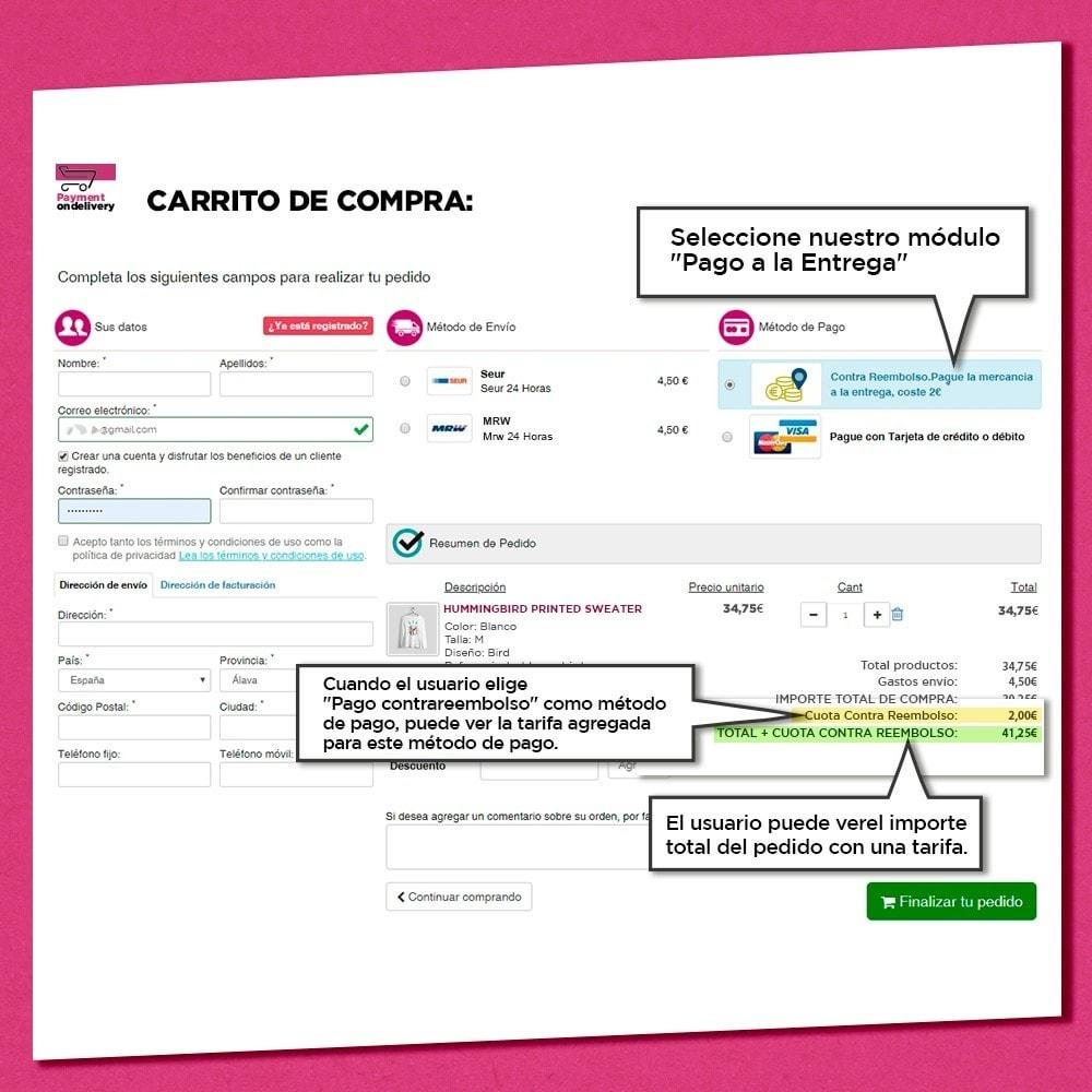 module - Pago a la Entrega (contrarrembolso) - Pago contra reembolso con comisión - 2