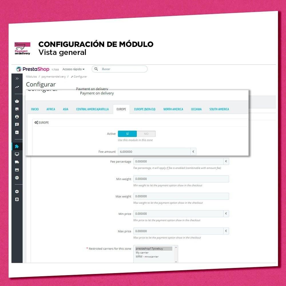 module - Pago a la Entrega (contrarrembolso) - Pago contra reembolso con comisión - 5