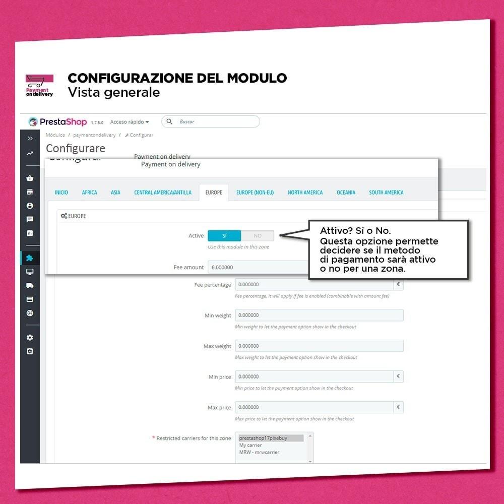 module - Pagamento alla Consegna (in contrassegno) - Pagamento alla consegna con commissioni - 6