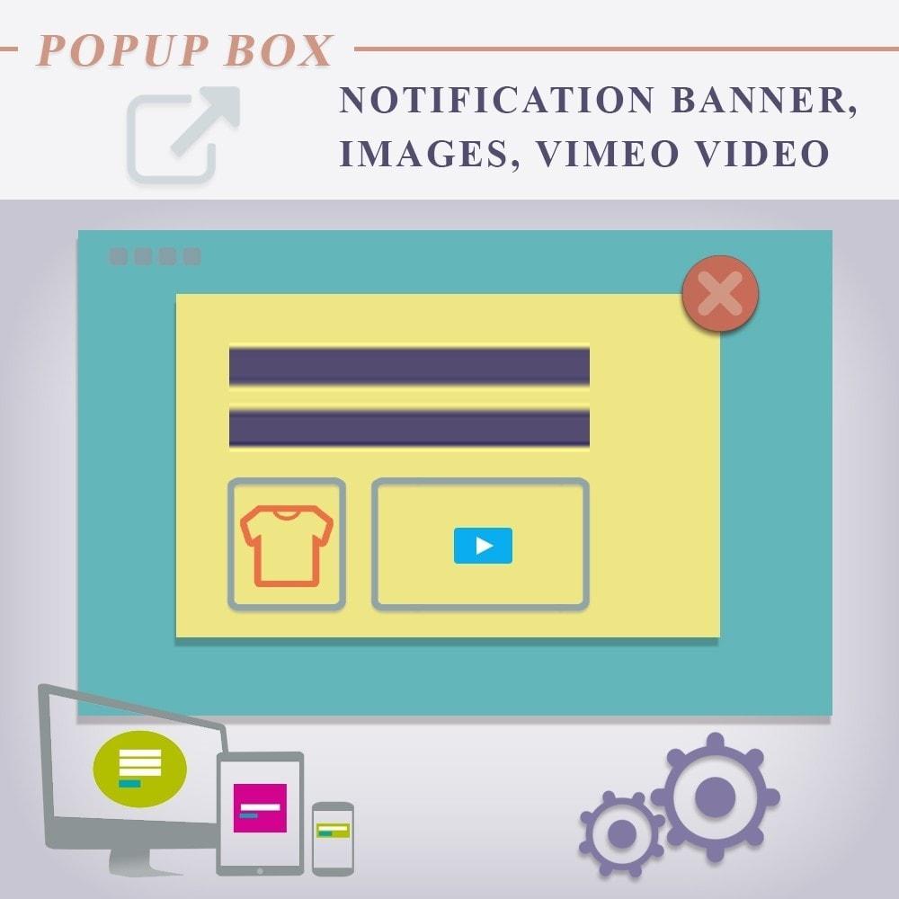 module - Всплывающие окна - Всплывающее промо окно (Попап), с изображениями и видео - 1