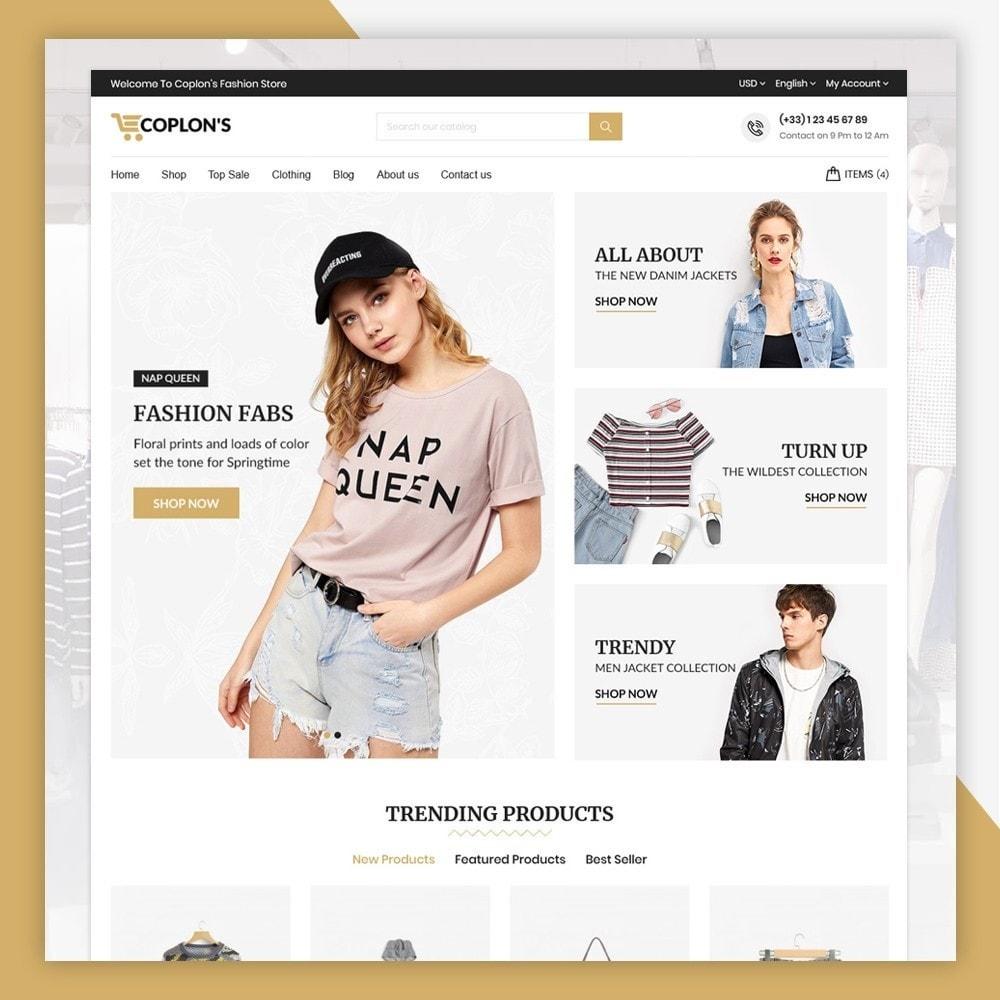theme - Fashion & Shoes - Coplons Fashion Store - 2