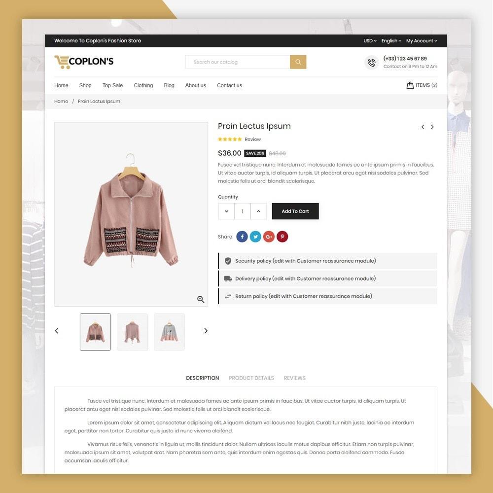 theme - Fashion & Shoes - Coplons Fashion Store - 7