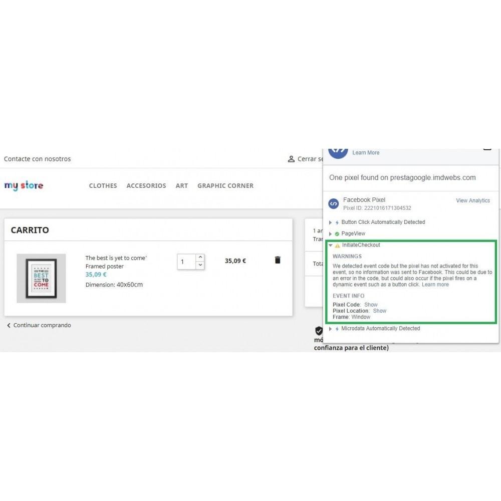 module - Informes y Estadísticas - Conversiones Analytics, Adwords, Pixel y Rmkt (gtag.js) - 11