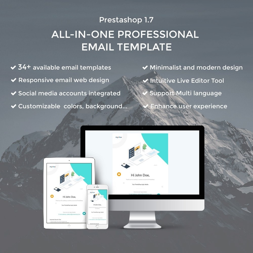 email - PrestaShop email templates - Concac - Responsive Email Template - 1