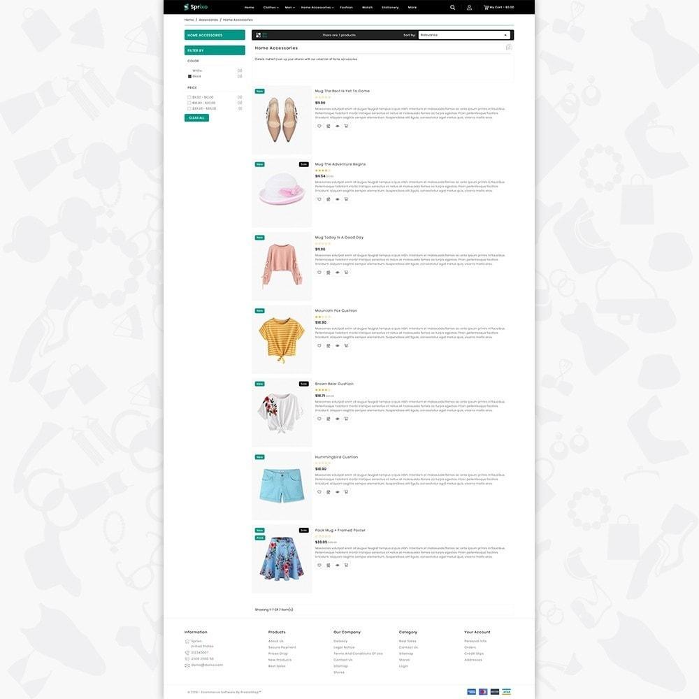 theme - Mode & Schuhe - Sprixo - The  Fashion Store - 4
