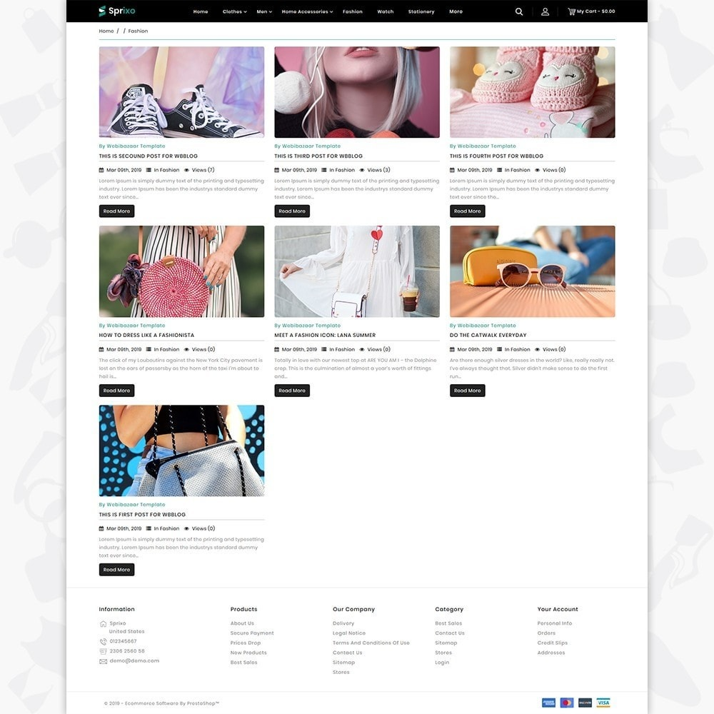 theme - Mode & Schuhe - Sprixo - The  Fashion Store - 6