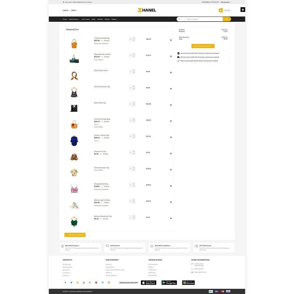 theme - Fashion & Shoes - Chanel Stylish Fashion Mega Boom - 4