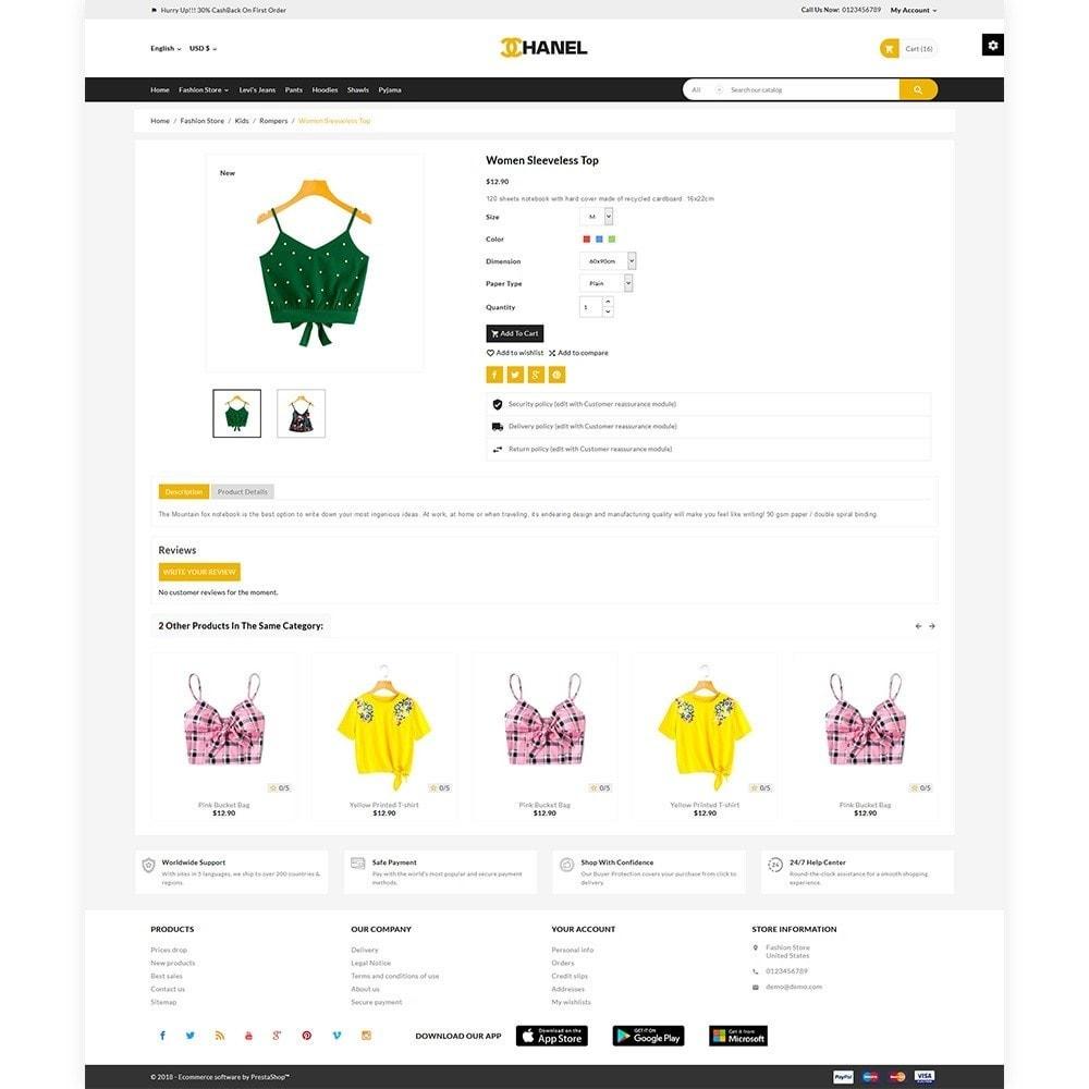 theme - Fashion & Shoes - Chanel Stylish Fashion Mega Boom - 5