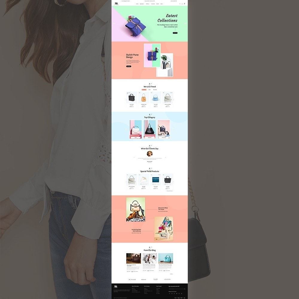 theme - Mode & Chaussures - Zebra Fashion Full Responsive Store - 2