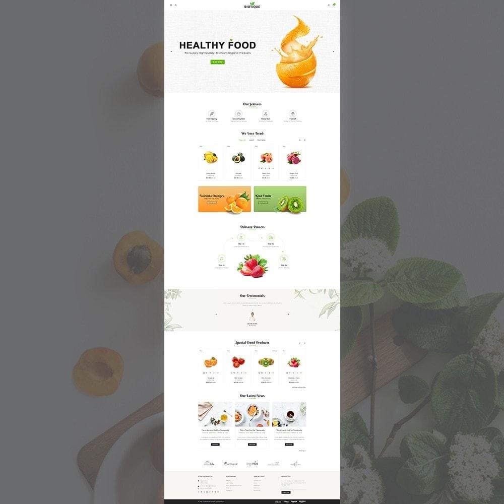 theme - Temas PrestaShop - Biotique Fresh Organic Responsive Multistore - 2