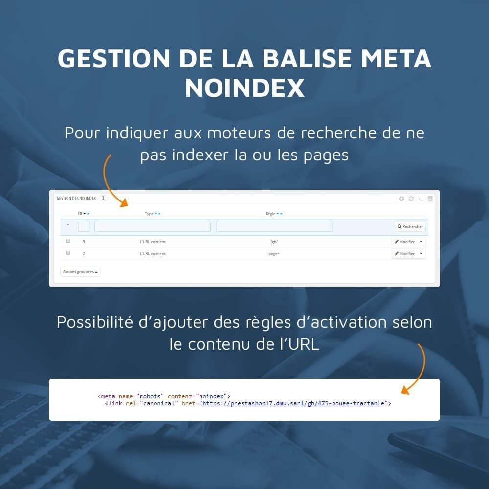 module - SEO (référencement naturel) - SEO Toolbox : Le référencement tout en un - 8