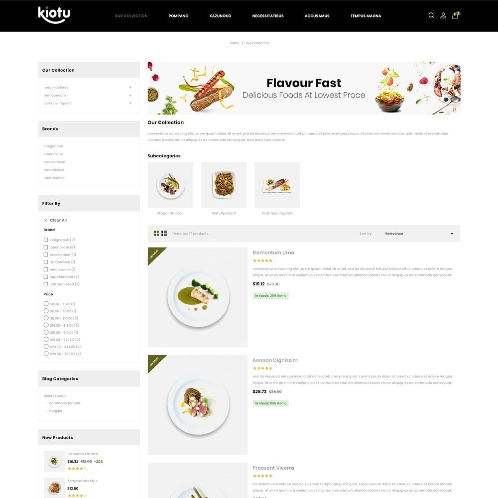 theme - Продовольствие и рестораны - Kiotu - The Fast Food Shop - 5