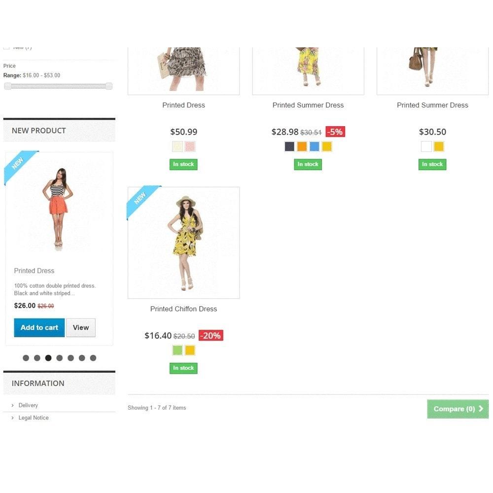 module - Слайдеров (карусельных) и галерей - Адаптивная карусель (слайдер) с новыми продуктами - 3
