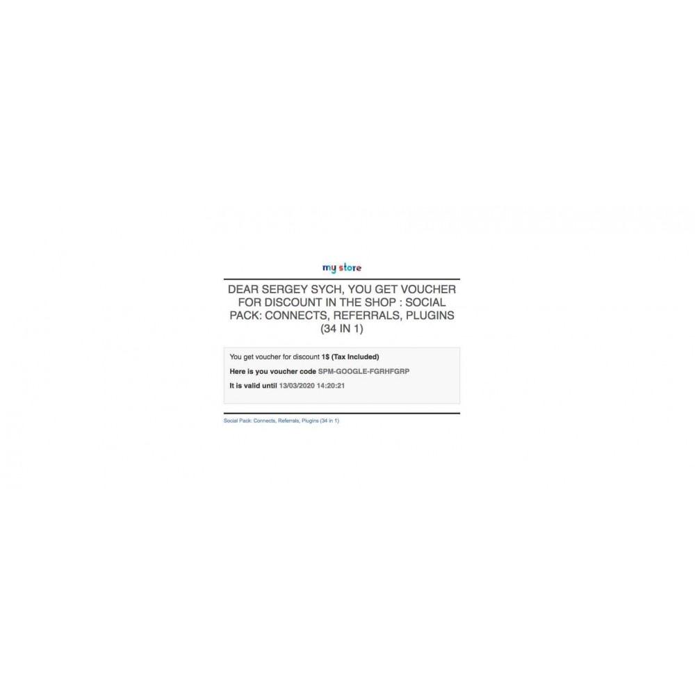 module - Boutons Login & Connect - Social Pack: Connexions, Parrainages, Plugins (34 en 1) - 6