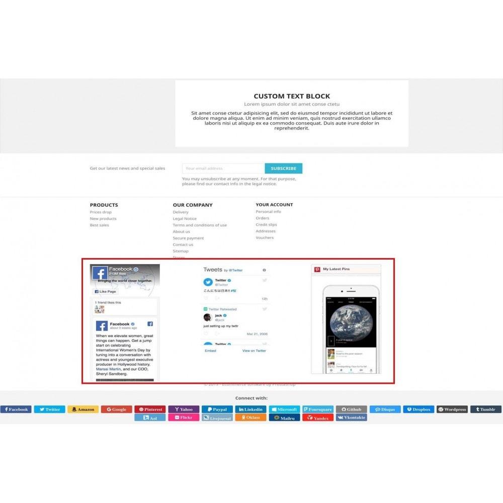 module - Boutons Login & Connect - Social Pack: Connexions, Parrainages, Plugins (34 en 1) - 17