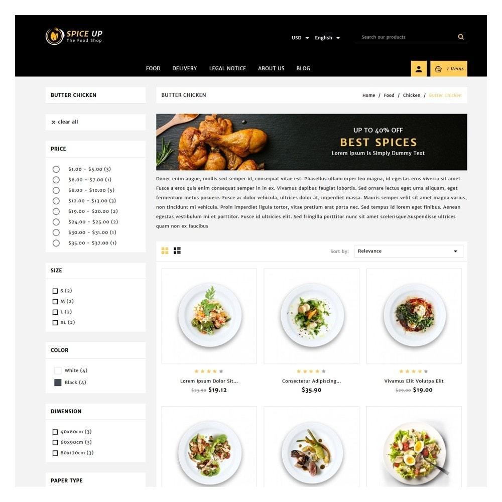 theme - Żywność & Restauracje - Spiceup - Food Club - 3