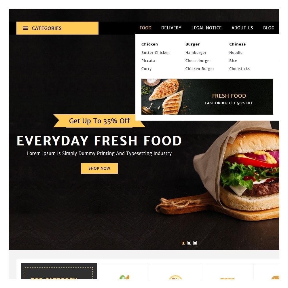 theme - Żywność & Restauracje - Spiceup - Food Club - 8