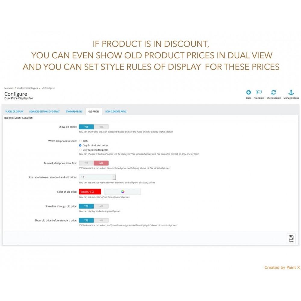 module - Zarządzanie cenami - Zaawansowane podwójne pokazanie cen z podatkiem i bez - 10