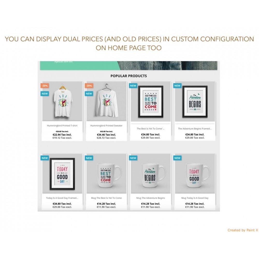 module - Управление ценами - Расширенное двойное отображение цен с НДС и без НДС - 5