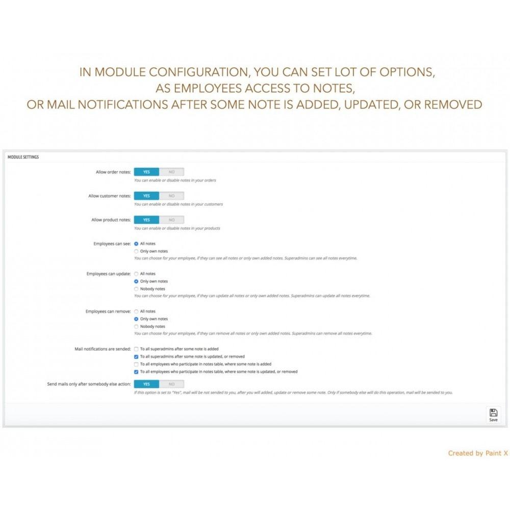 module - Anmeldung und Bestellvorgang - Erweiterte Anmerkung für Bestellung, Produkt und Kunde - 4