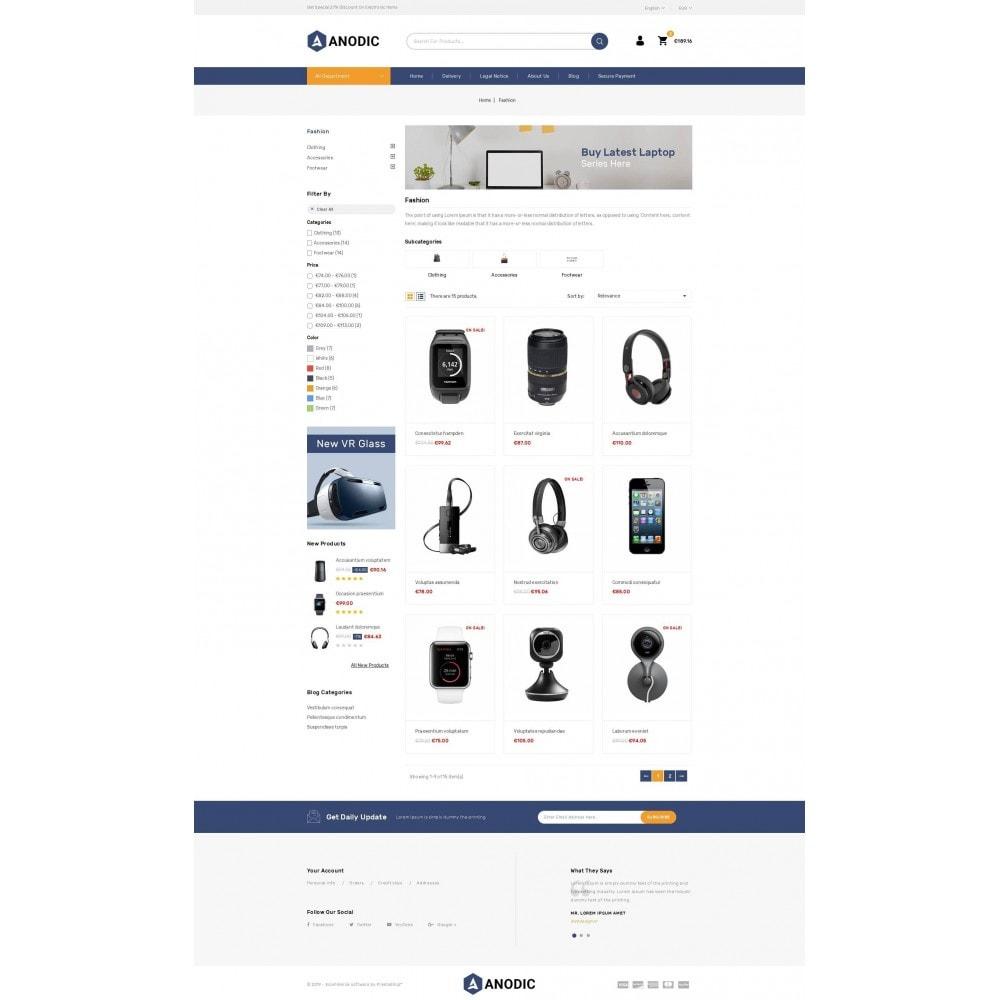 theme - Eletrônicos & High Tech - Anodic - Electronic Gadget Store - 3