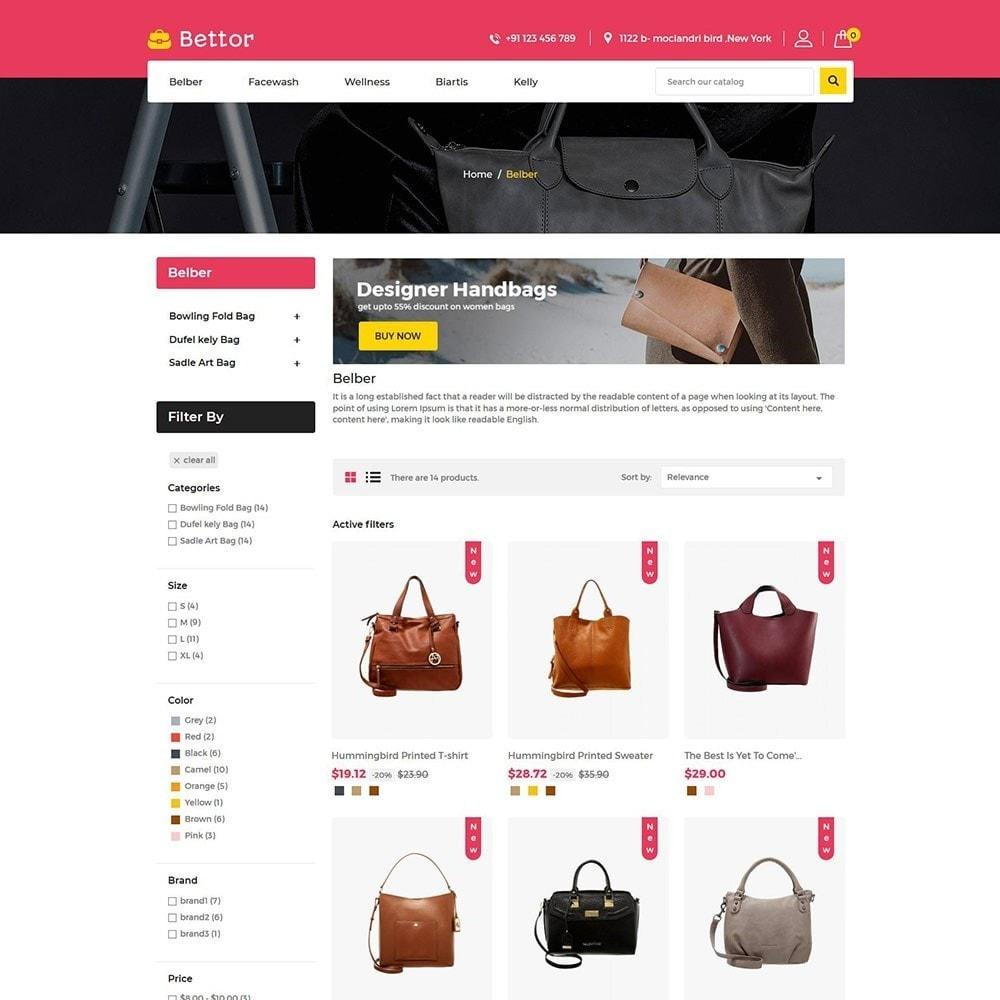 theme - Fashion & Shoes - Bettor Bag - Fashion Store - 3