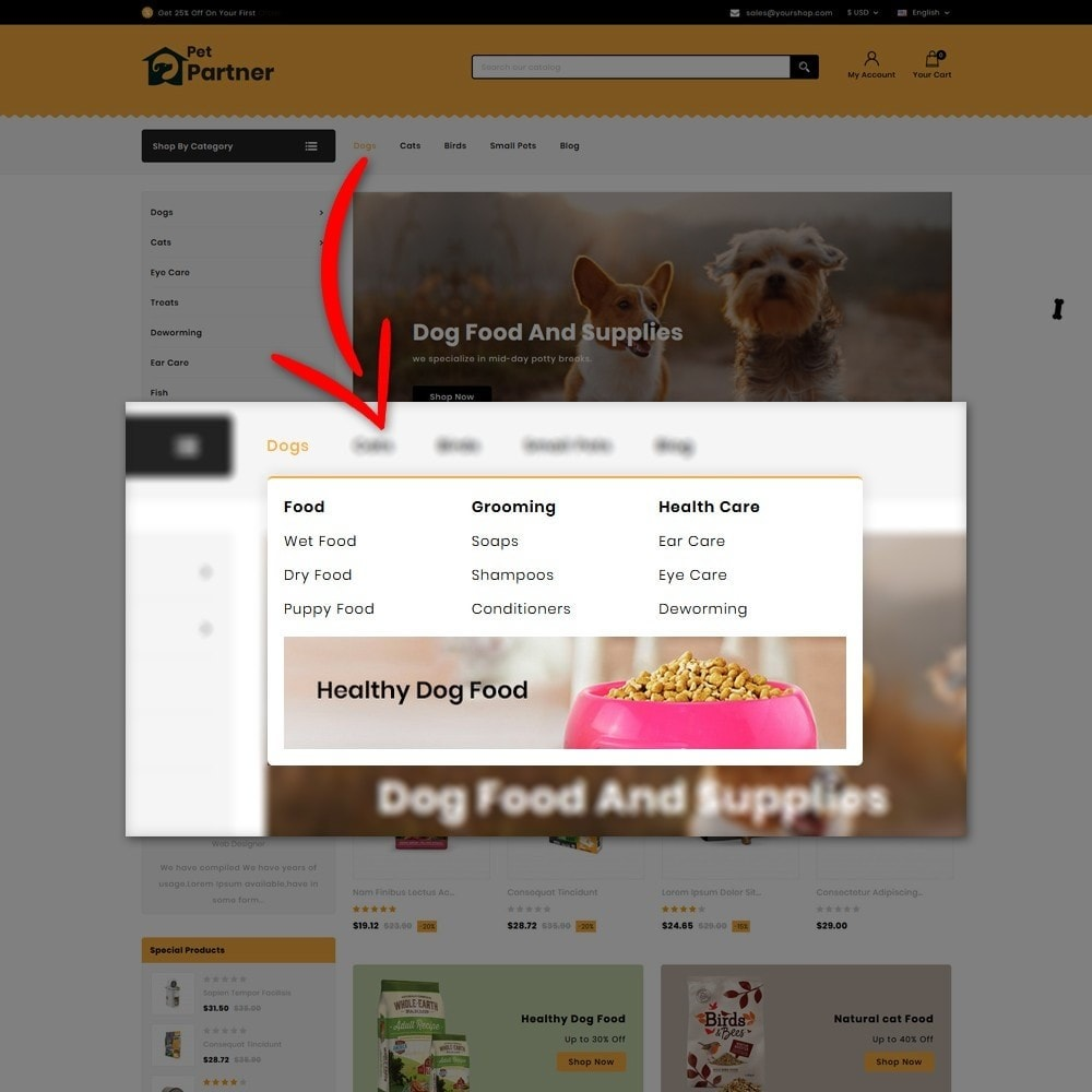 theme - Animali - Pets Partner Store - 6