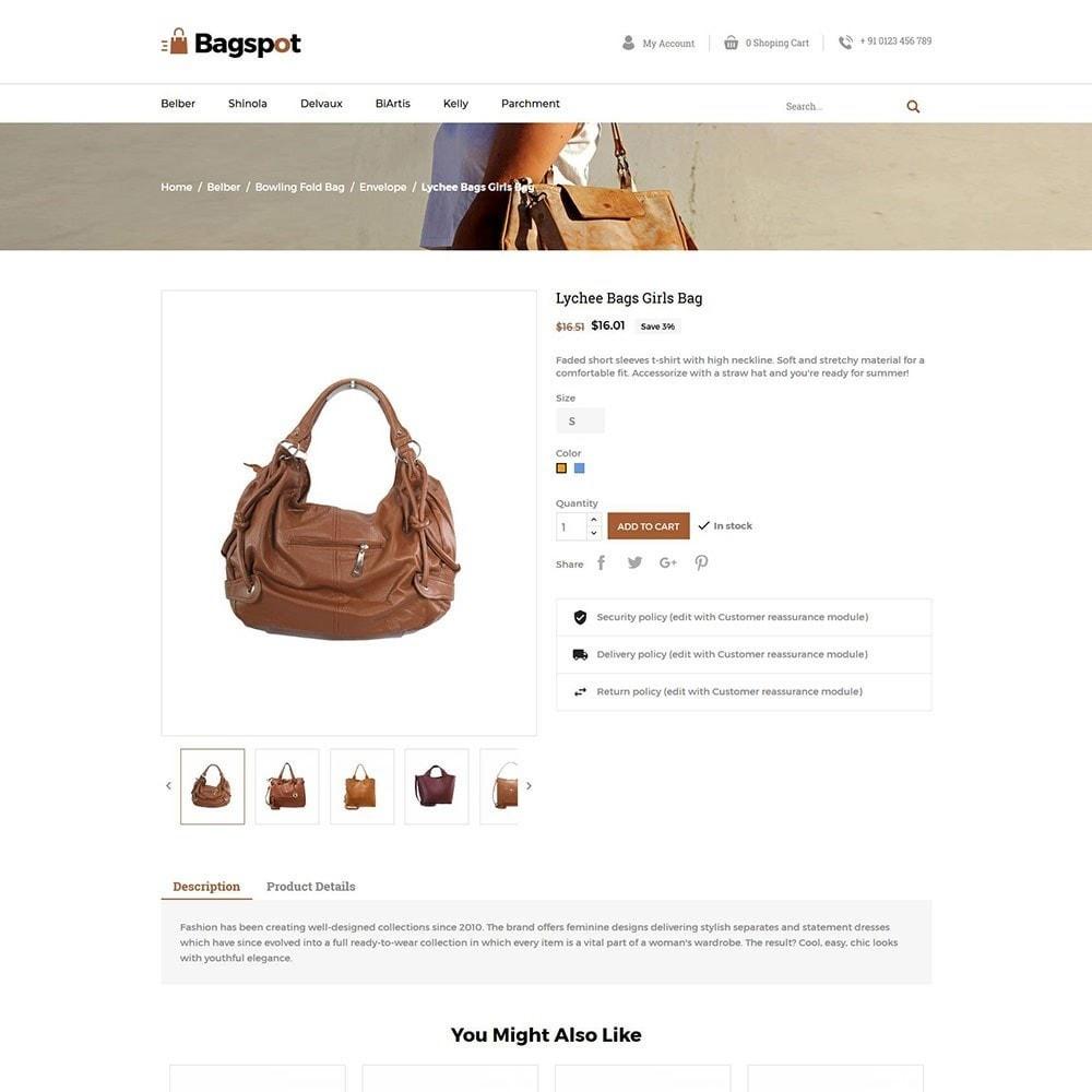 theme - Fashion & Shoes - Bagspot - Bag Fashion Store - 6