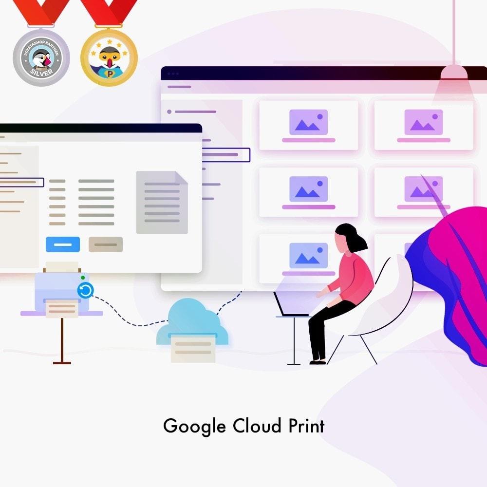 module - Preparation & Shipping - Google Cloud Print - 1