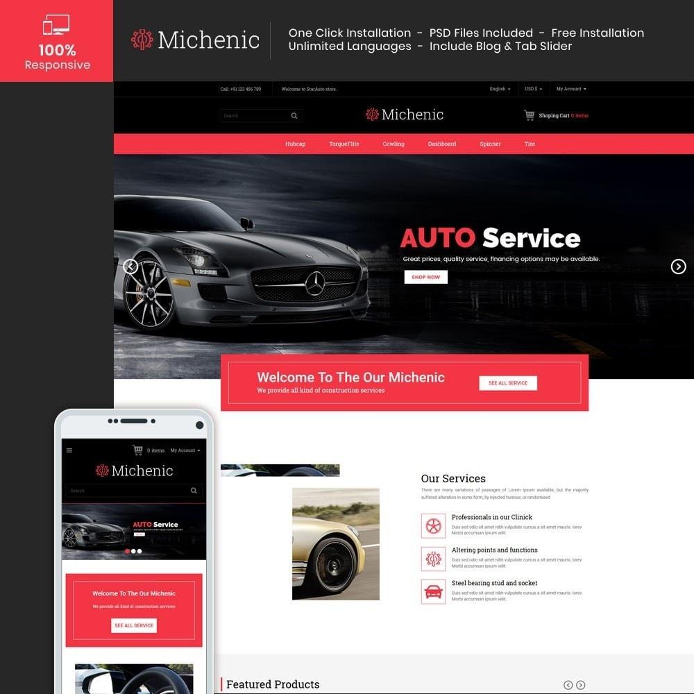 theme - Auto & Moto - Michenic Auto - Negozio di attrezzi per auto - 1