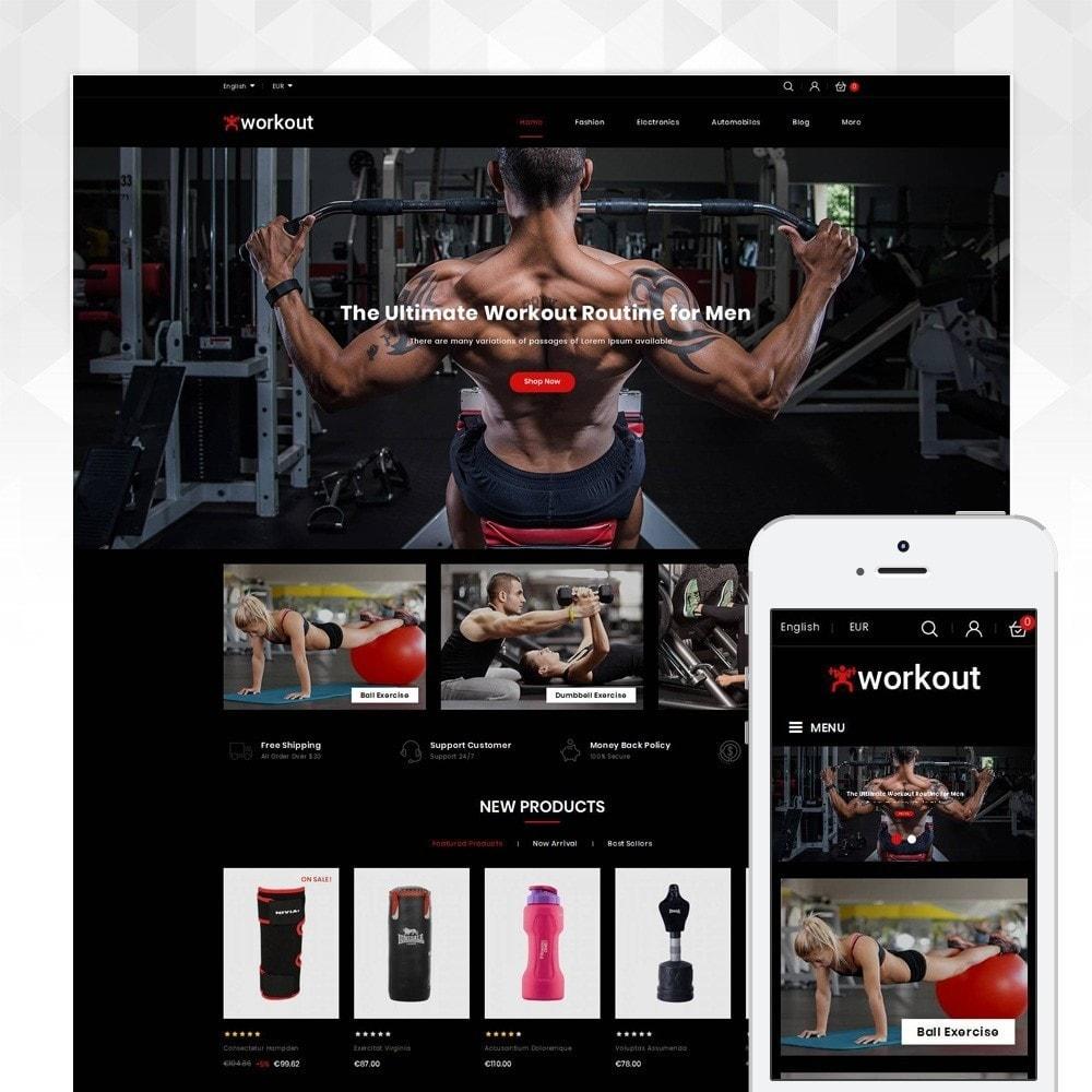 theme - Gesundheit & Schönheit - Workout - Fitness Store - 1