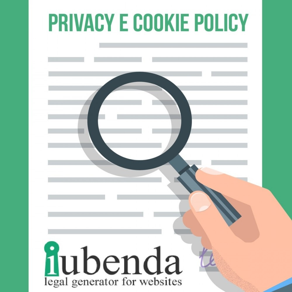 module - Législation - Art Iubenda Privacy and Cookie Policy GDPR - 1