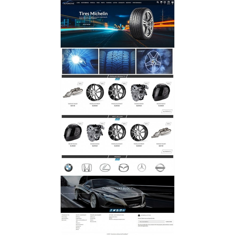 theme - Auto & Moto - Automotive Store - 3