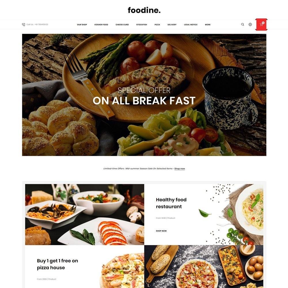 theme - Продовольствие и рестораны - Foodline - The Food Restaurant - 2