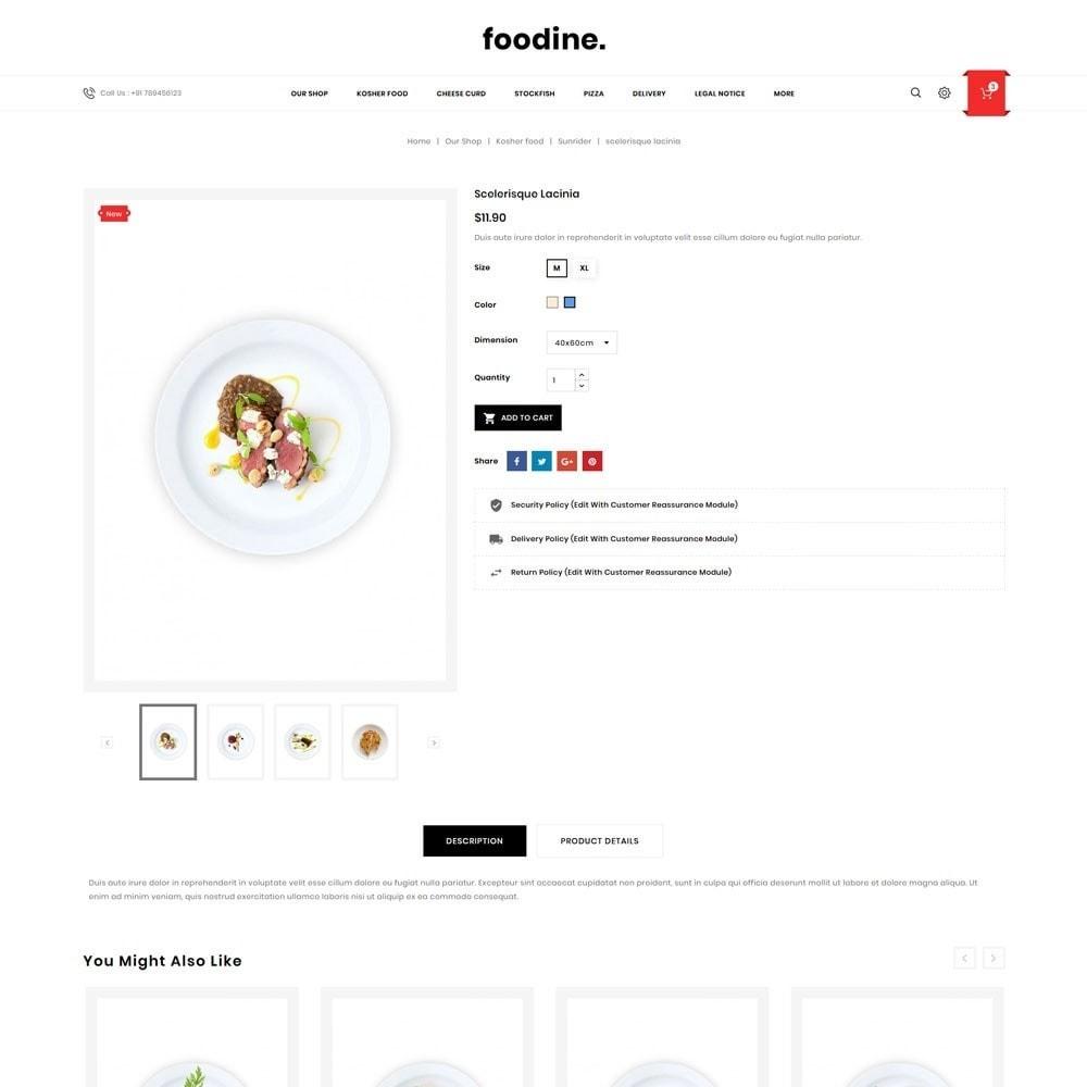 theme - Продовольствие и рестораны - Foodline - The Food Restaurant - 6