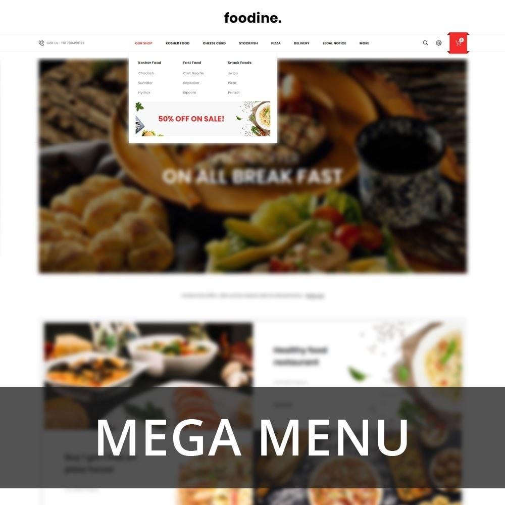 theme - Продовольствие и рестораны - Foodline - The Food Restaurant - 9