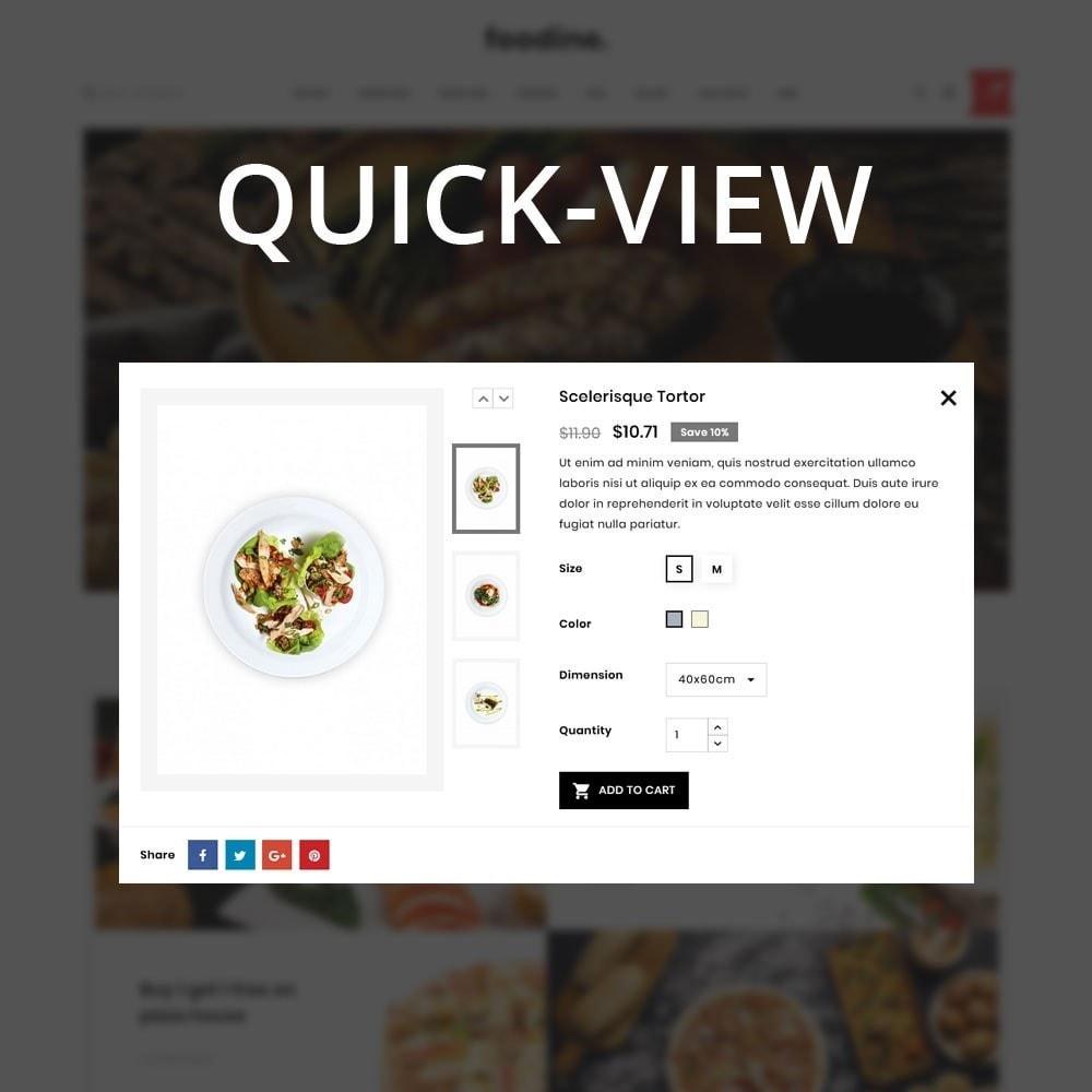 theme - Продовольствие и рестораны - Foodline - The Food Restaurant - 11