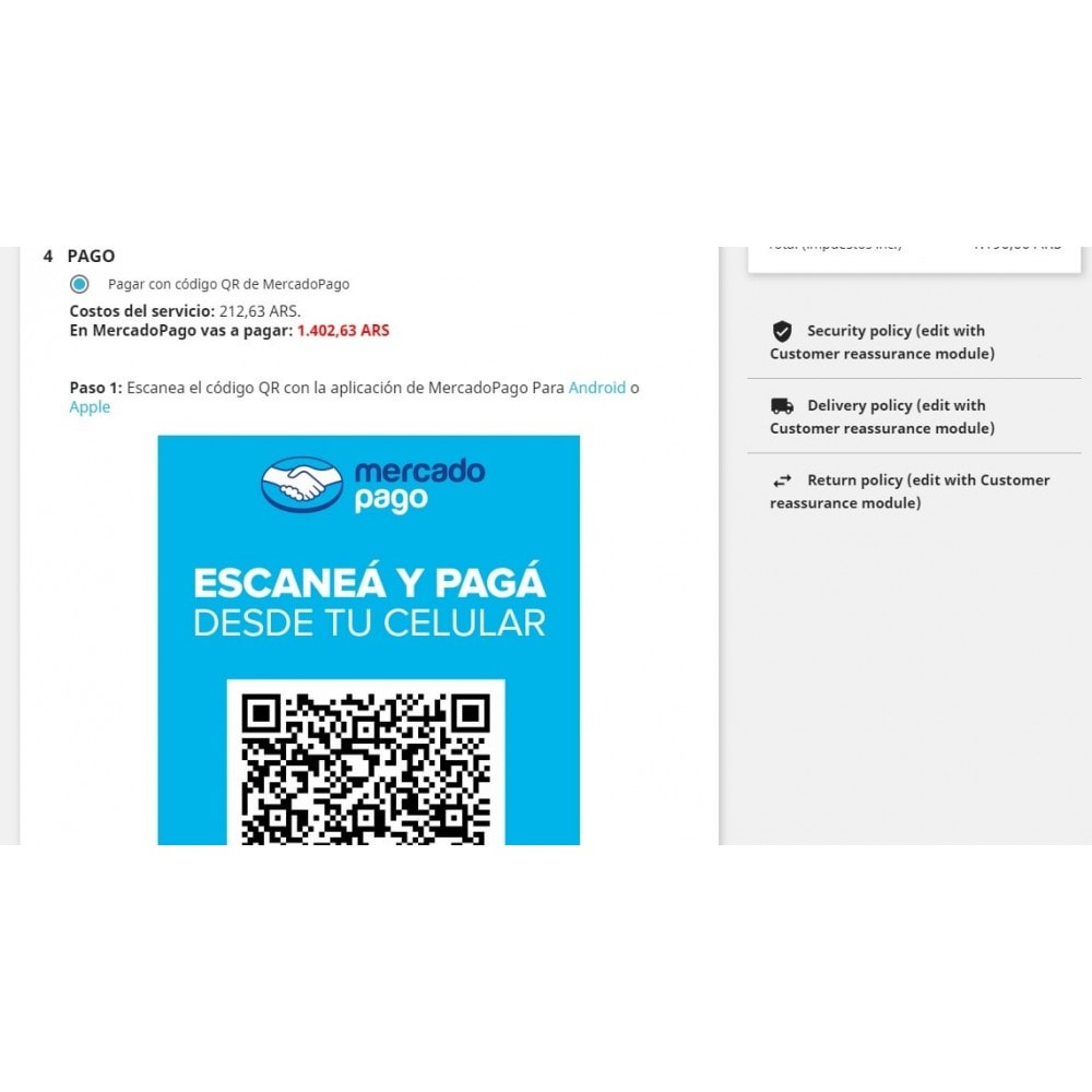 module - Pago con Tarjeta o Carteras digitales - MercadoPago Tools Pro - 3