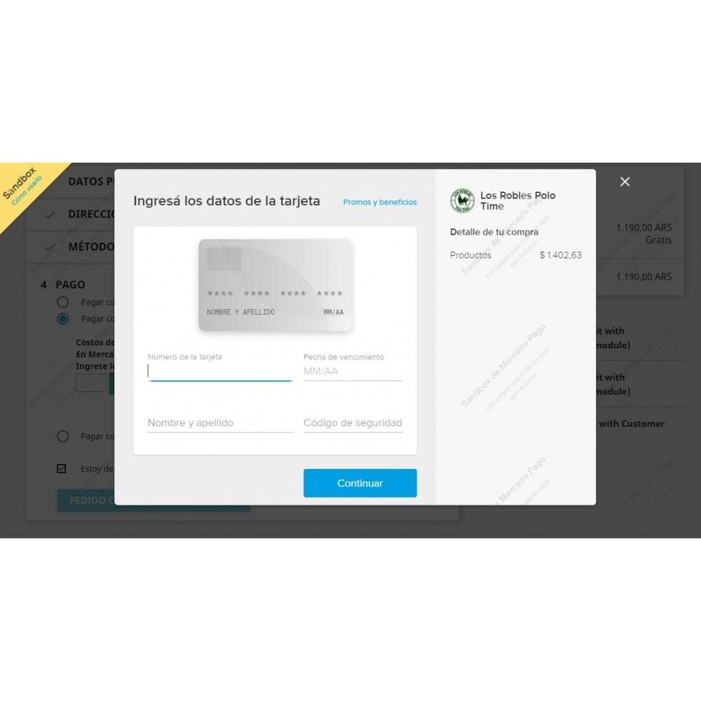 module - Pago con Tarjeta o Carteras digitales - MercadoPago Tools Pro - 5