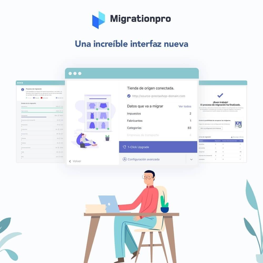 module - Migración y Copias de seguridad - Actualización de Prestashop y herramienta de migración - 6