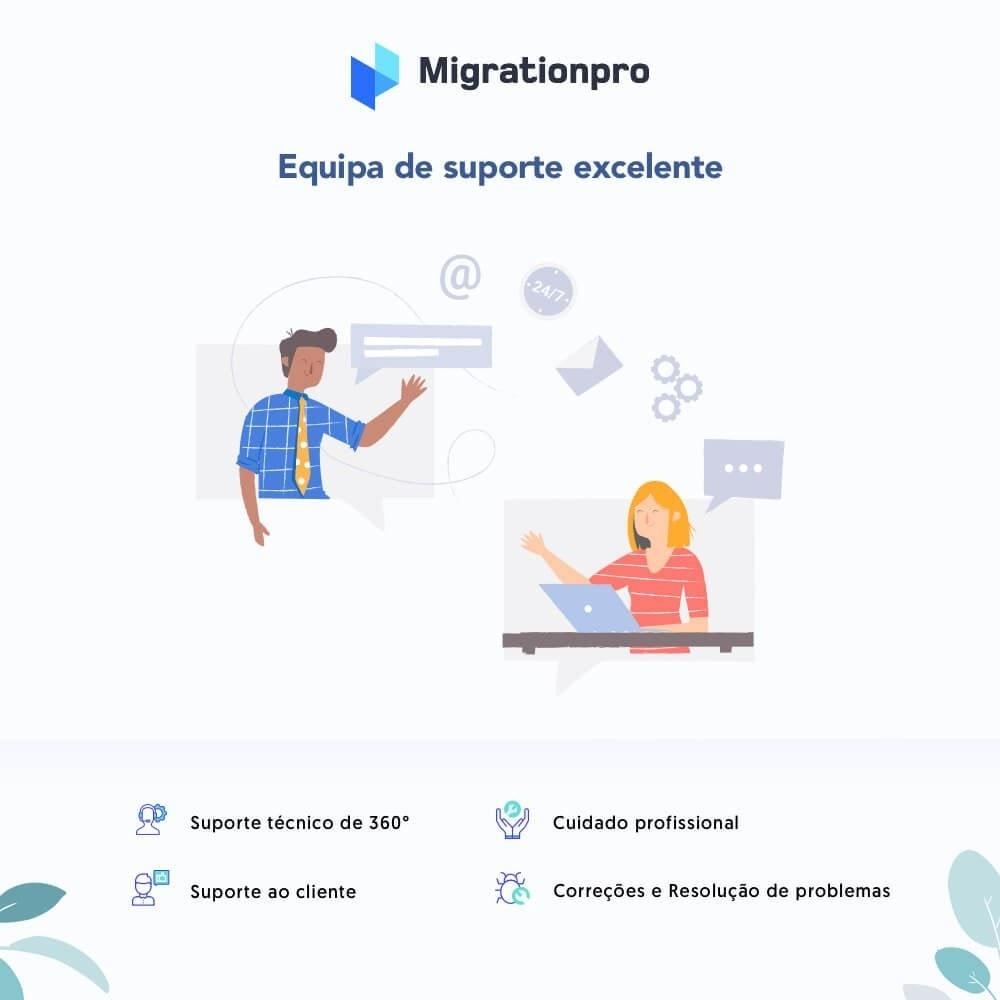 module - Migração de Dados & Registro - Upgrade PrestaShop e ferramenta de Migração - 8