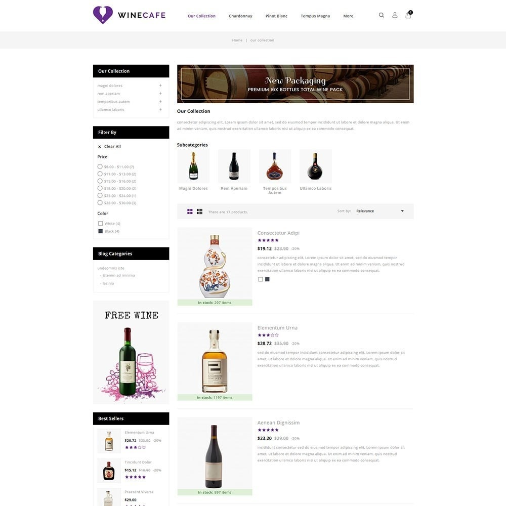 theme - Bebidas & Tabaco - Winecafe - The Wine Store - 5